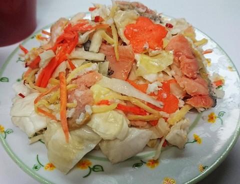 桜鱒飯寿司完成