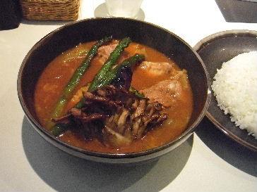 ひげ男爵(スープカレー)