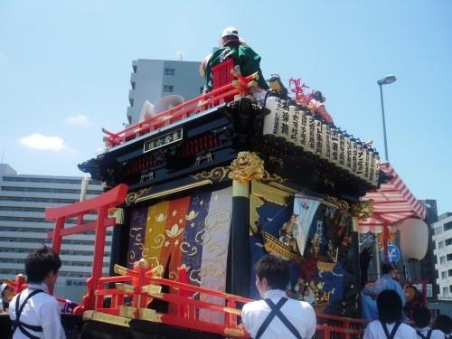北海道神宮 山車