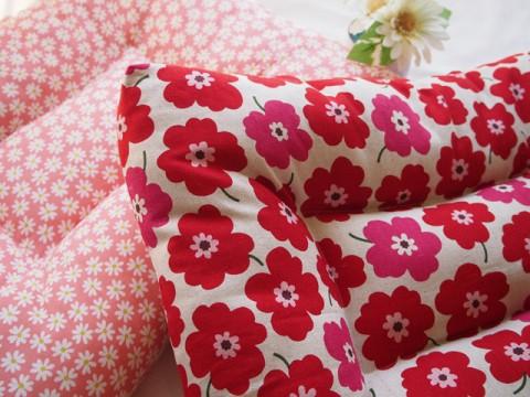犬用ベッド マリメッコ風と小花