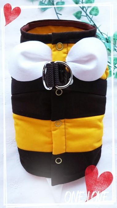 布製ハーネス ミツバチ