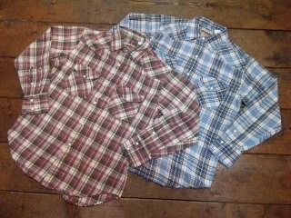 CAMCO LIGHT FLANNEL WESTERN SHIRTS!!