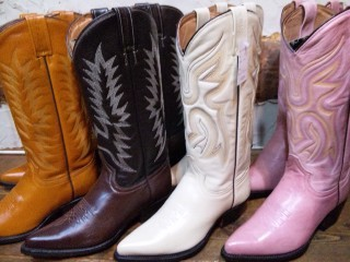 Rancho Lady's WESTERN BOOTS!!
