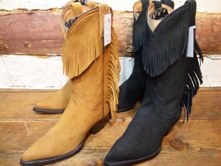 Rancho Lady's FRINGE WESTERN BOOTS!!