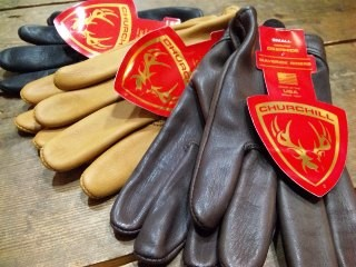 CHURCHILL GLOVE 別注 DEER SKIN GLOVE!!