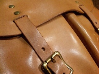 Cushman SADDLE LEATHER SHOULDER BAG!!