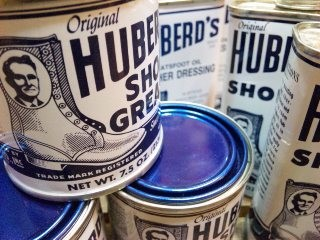 HUBERD'S SHOE GREASE OIL!!