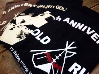 GOLD RUSH ORIGINAL / 20th Anniversary Polo Shirt