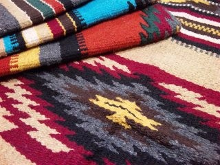 "EL PASO SADDLE BLANKET / Rug ""New West Hacienda Series"""
