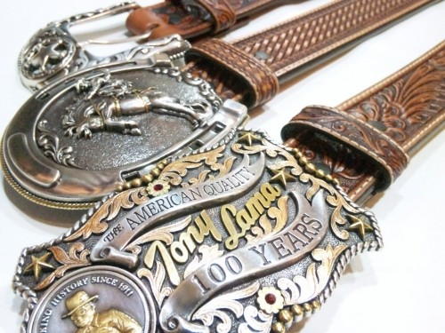 Tony Lama / LEATHER BELT