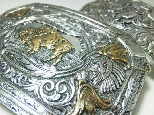 "Gist Silver Smiths / Trophy Buckle ""Heritage Collection"""