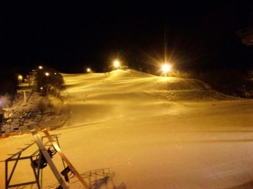 嵐山で初滑り!!