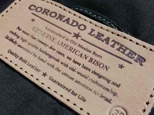 CORONADO LEATHER / Bison Garrison Vest