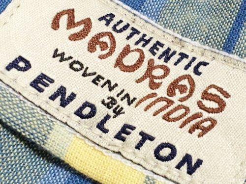 "PENDLETON / LS Oceanside BD Shirt ""JPN FIT"""