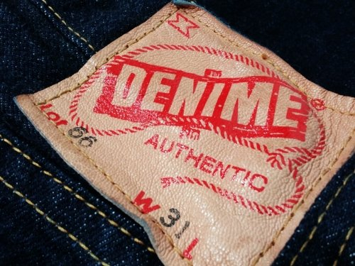"Denime / 66 XX type ""ONE WASH"""