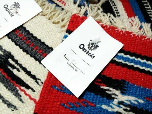 ORTEGA'S / Rug Coaster