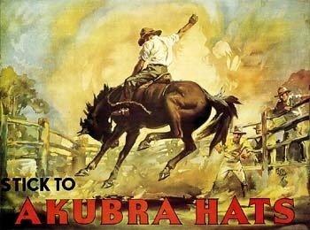 オーストラリアで最も有名なハットブランド【AKUBRA(アクーブラ)】!!