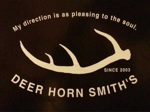 最近のDEER HORN SMITH'S革物の客注商品です!!掲載許可頂いてます!(^o^)