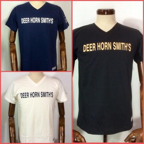 DEER HORN SMITH'SのニューTシャツが登場です!!(^o^)