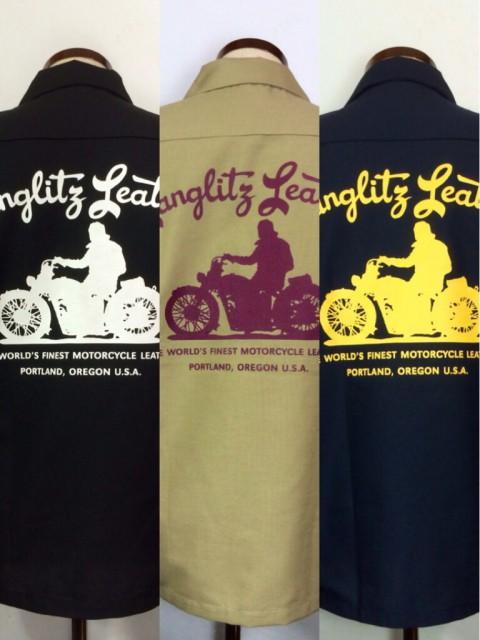 LANGLITZ LEATHERSから、今年モデルのワークシャツが入荷しました!(^o^)