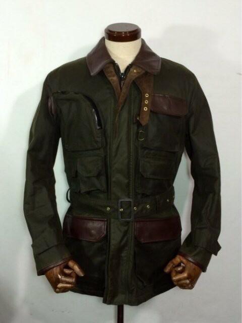 冬にバイブリーコートのオイルドジャケットはいかがでしょうか?(^-^)