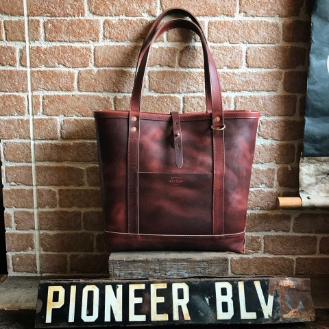 LEFT HAND TOTE BAG GRcompany別注 / Horween Chromexcel