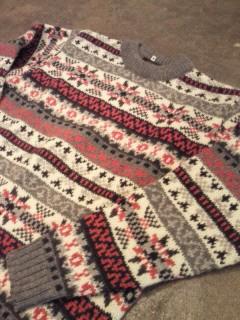 ハイランドジャガードセーター。