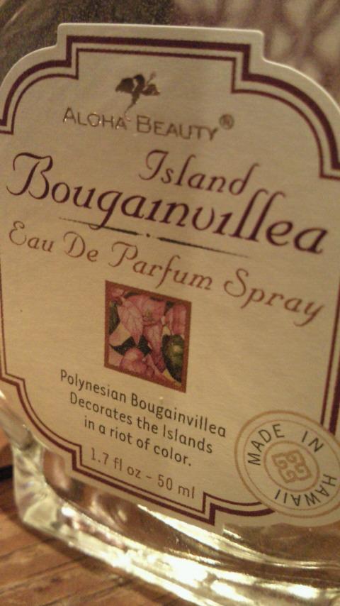 ALOHA BEAUTY Perfume 入荷しました。