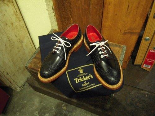 『コードバン』Tricker's/(7292)短靴!!