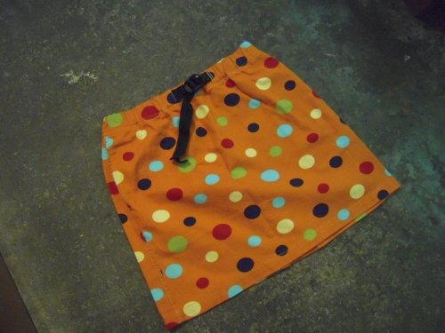 WILDTHINGS MULTI DOT SKIRT