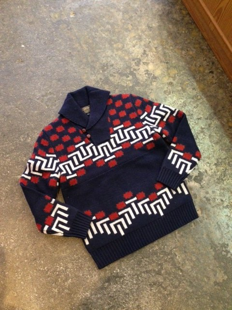 PENDLETON RATHBURN SWEATER(ショールカラーセーター)