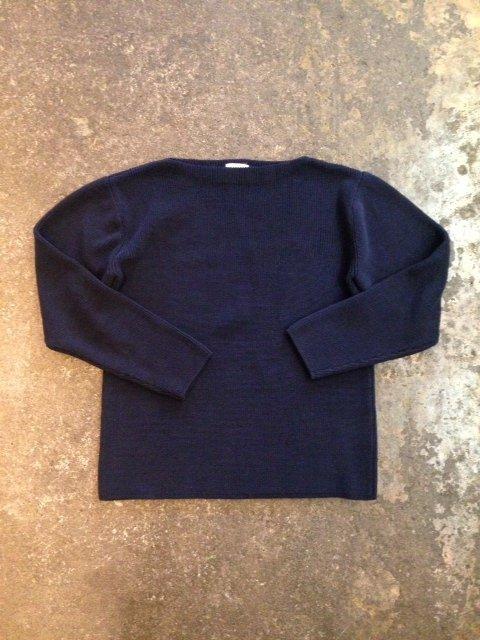 HS EQUIPMENT コットンバスクセーター