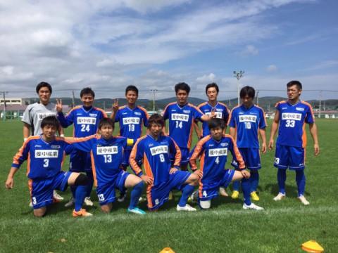 サッカー道東ブロックリーグ第7節&クラブチーム結果