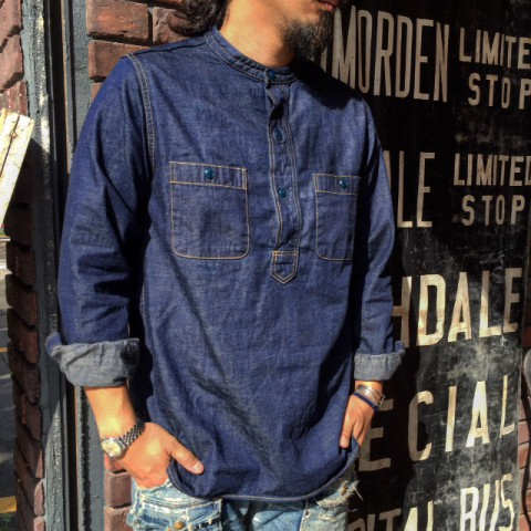FULLCOUNT DENIM PULLOVER SHIRTS
