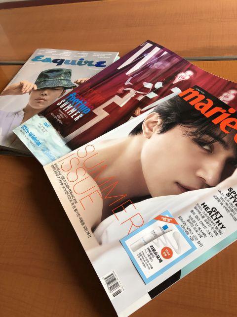 韓国の雑誌ありまーす^^