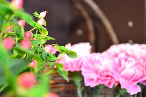 ステキな花たちにウットリ/M's Flowerさん