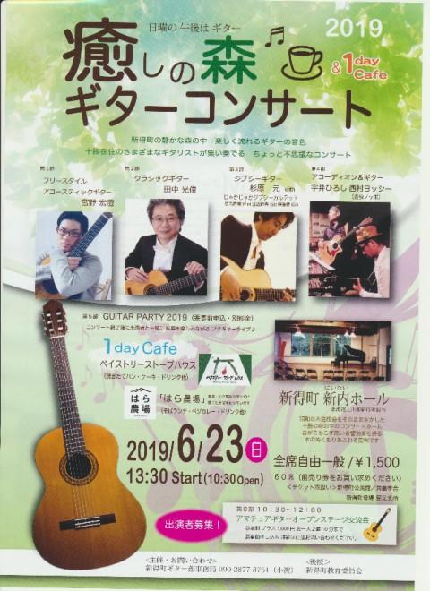 癒しの森 ギターコンサート2019