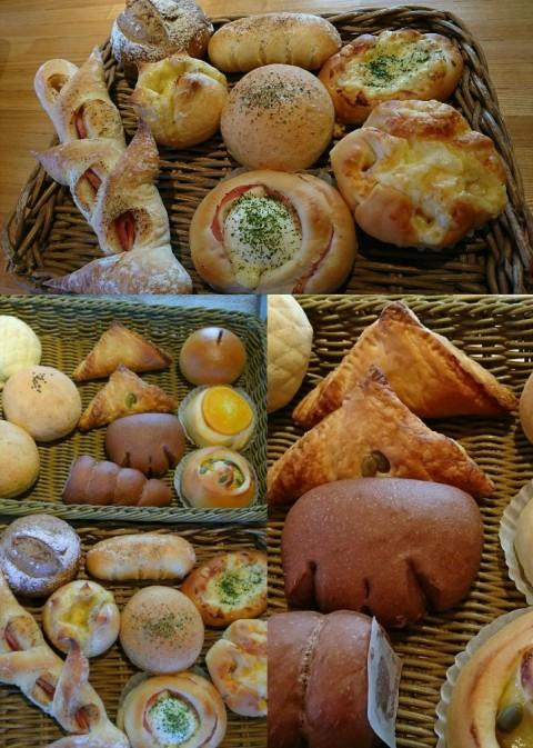 今日はみかづきふくろうさんのパンの販売です♪