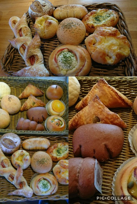明日、日曜日みかづきふくろうさんのパンの販売♪