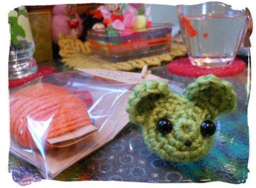 おおにぎわいの編み編み会♪