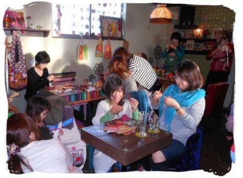 編み編み会ファイナル終了=3