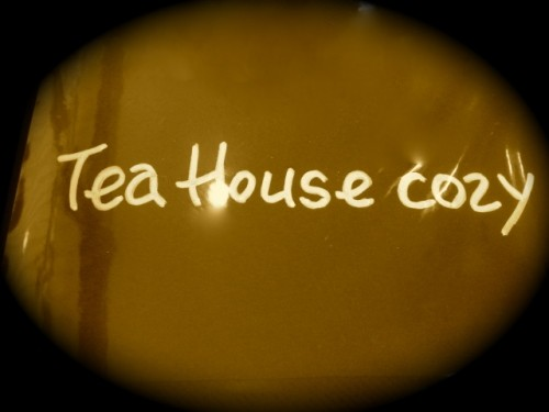 Tea House Cozy さんでアフタヌ~ンティ=^-^=♪
