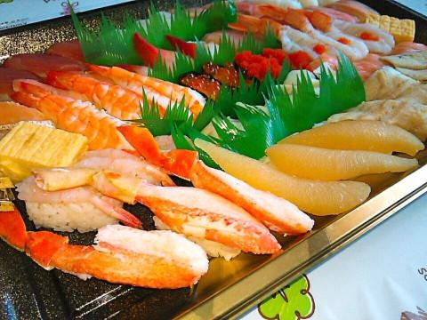 魚べいさんとベルワラさんで食べ納めと新年のご挨拶