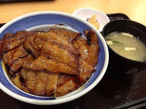 豚丼&いくら丼!