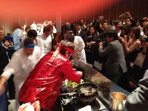 ②復活!料理の鉄人~アイアンシェフに出演@アルペスカ&イルフラゴリーノ