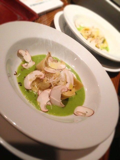 春色パスタ!ディナーコースで@イタリア料理オステリア アルペスカ