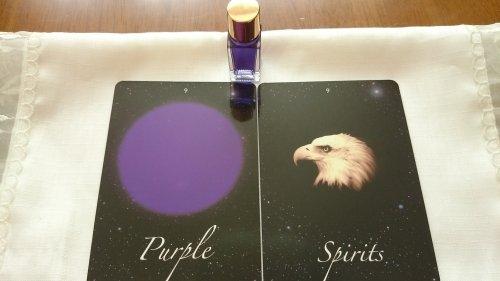 今日のカード~スピリットとパープル~