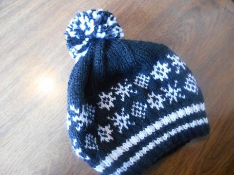春だけど、販売用手編み帽子完成!