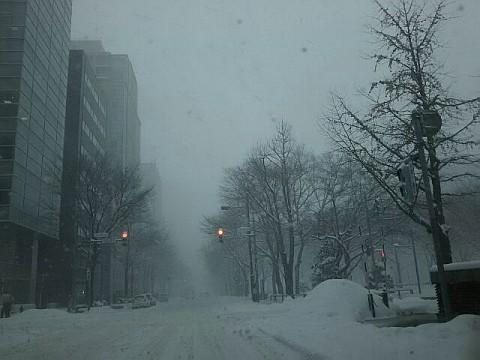 吹雪もよう