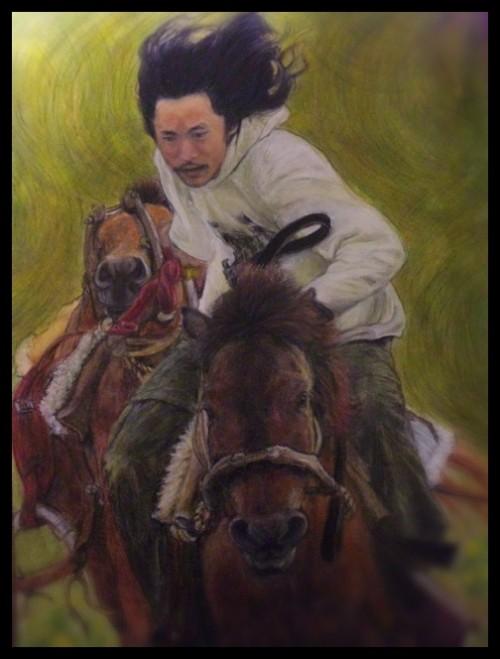 馬には乗ってみよ、人には添うてみよ~人も描きますの巻~